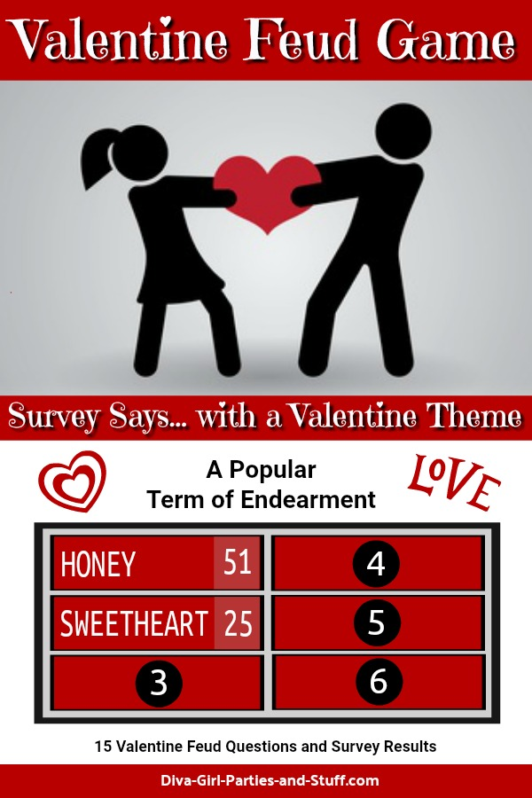Valentine Family Feud Game