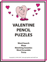 valentine pencil puzzle ebook