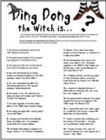 printable halloween witch game