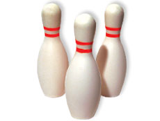 Bowling Party Foam Pins