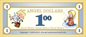 printable angel dollars