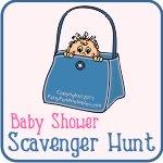 baby shower purse scavenger hunt game