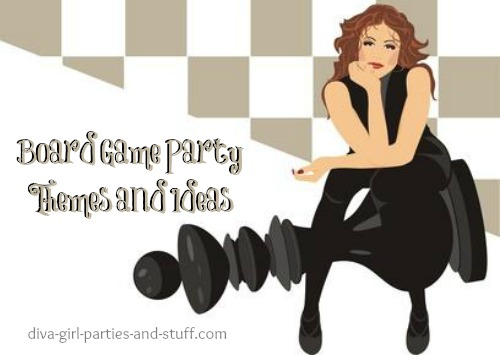board game party ideas and themes