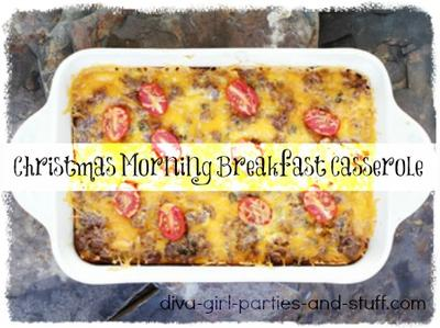 Easy Christmas Morning Breakfast Casserole