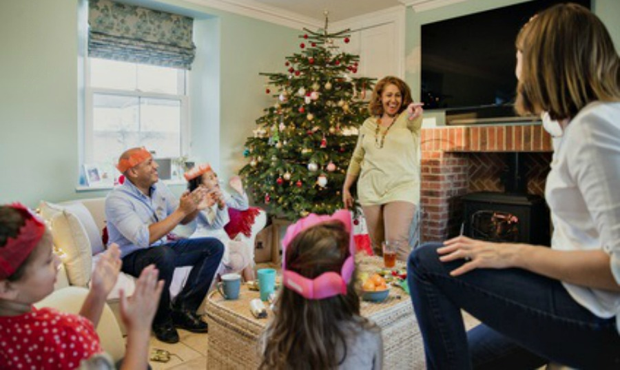 Christmas Charades Parlour Game