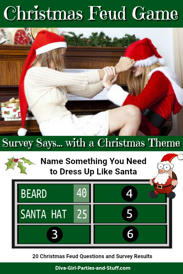 Christmas Family Feud Game