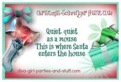 Christmas Scavenger Hunt Clues.Christmas Scavenger Hunts