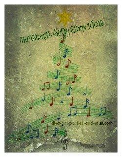 Christmas Carol Games