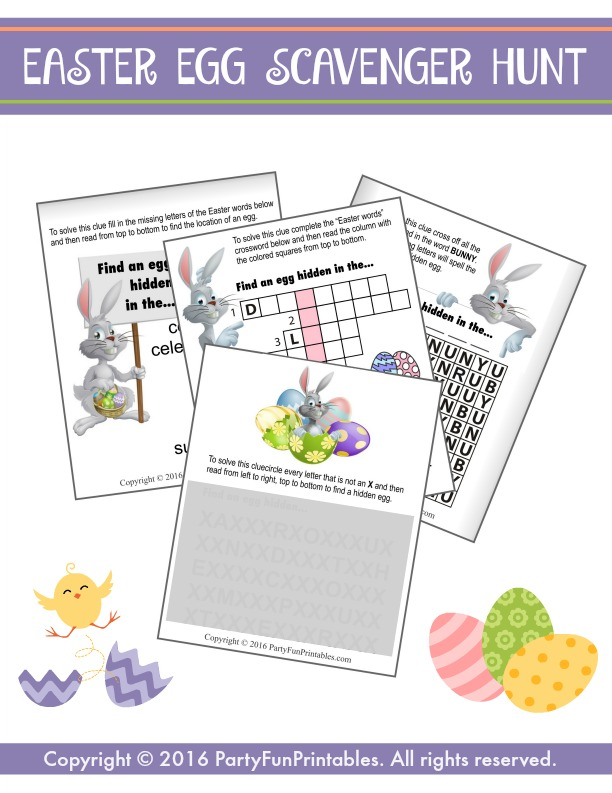 Right left easter game based on the bible easter story more easter party games negle Choice Image