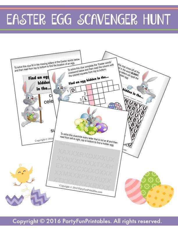 image relating to Easter Trivia Printable named Printable Easter Online games towards Bingo in the direction of Trivia