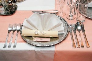 Fancy Dinner Party Place Setting