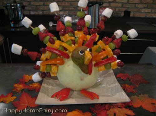 Fruit Gobbler Turkey Kabob