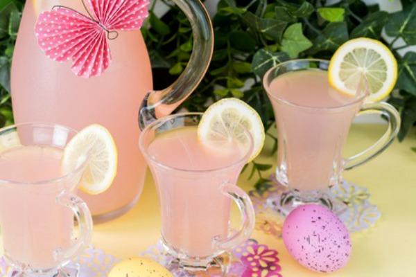 Pink Lemonade for a Garden Party