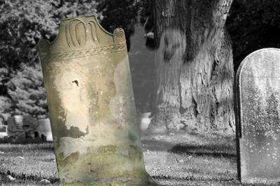 Ghost in the Graveyard