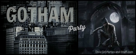 Gotham party theme ideas
