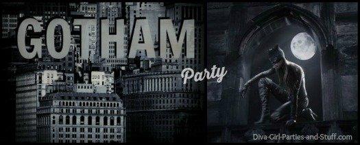 Gotham party theme ideas