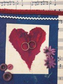 paper craft wedding card