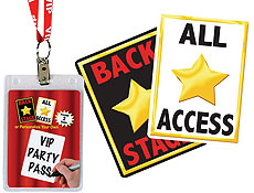 Hollywood Party VIP Passes