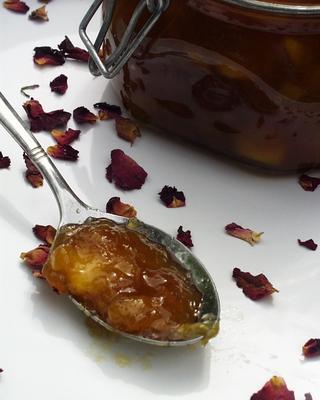 La Vie en Rose Mango and Nectarine Jam