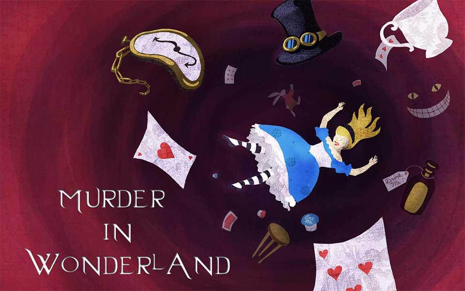 Murder in Wonderland Halloween Murder Mystery