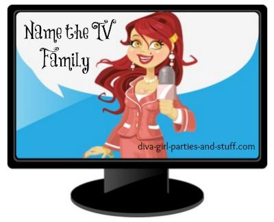 TV Families Party Trivia