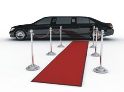 limo and red carpet event