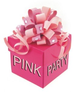 Pink Party Present