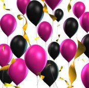 diva party balloons
