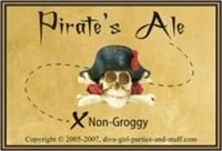 label for pirate's ale