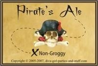label for pirate's ale