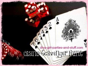 Casino Scavenger Hunt List Ideas