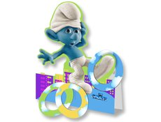 Smurf Ring Toss Game