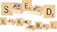Scrabble Tiles for a Scrabble Board Game Variation