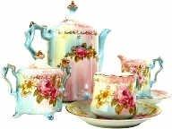 victorian tea party service