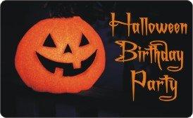 Tween Halloween Birthday Party