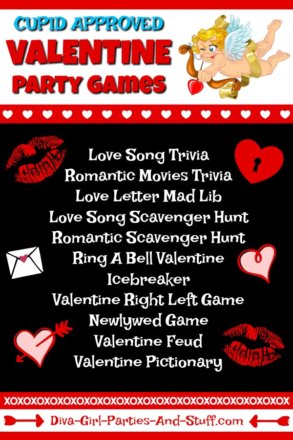 10 Fun Valentine Party Games