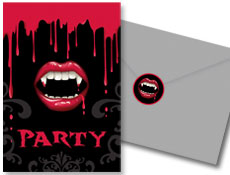 Vampire Party Invitations