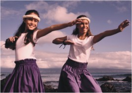 hula dancing tweens